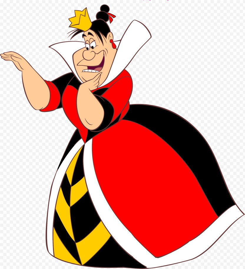 Alice In Wonderland Queen Of Hearts King Alice's Adventures Red PNG