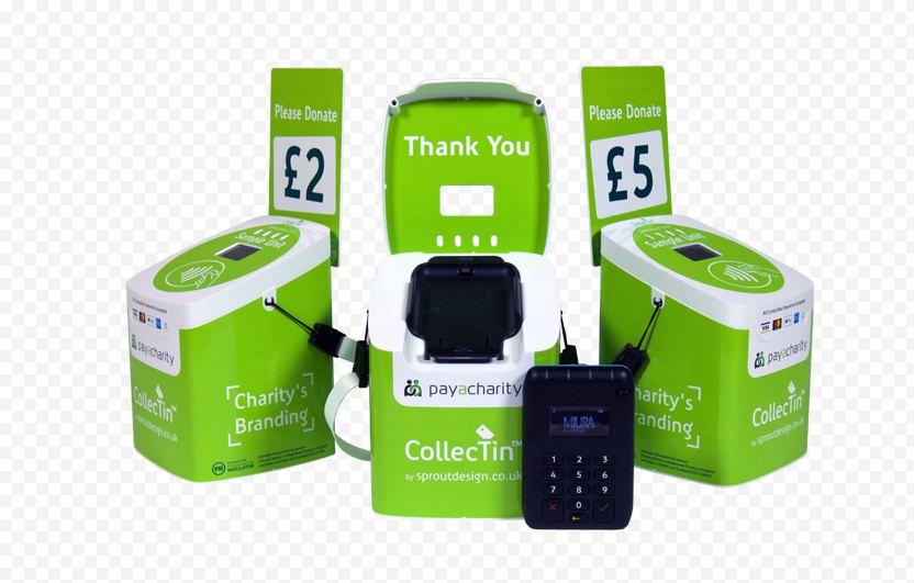 ECL Plastics Ltd Direct Mail Fundraising Donation Box - Payment Terminal PNG