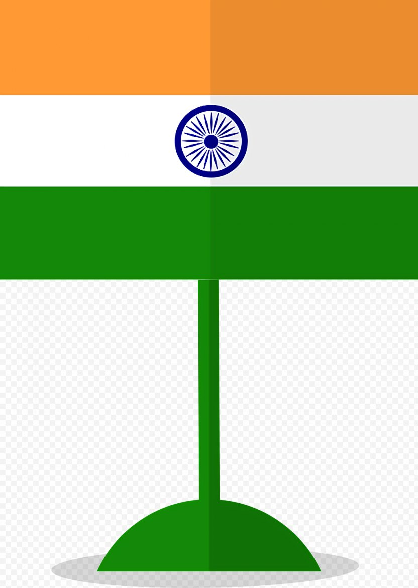 India Independence Day Background Green PNG