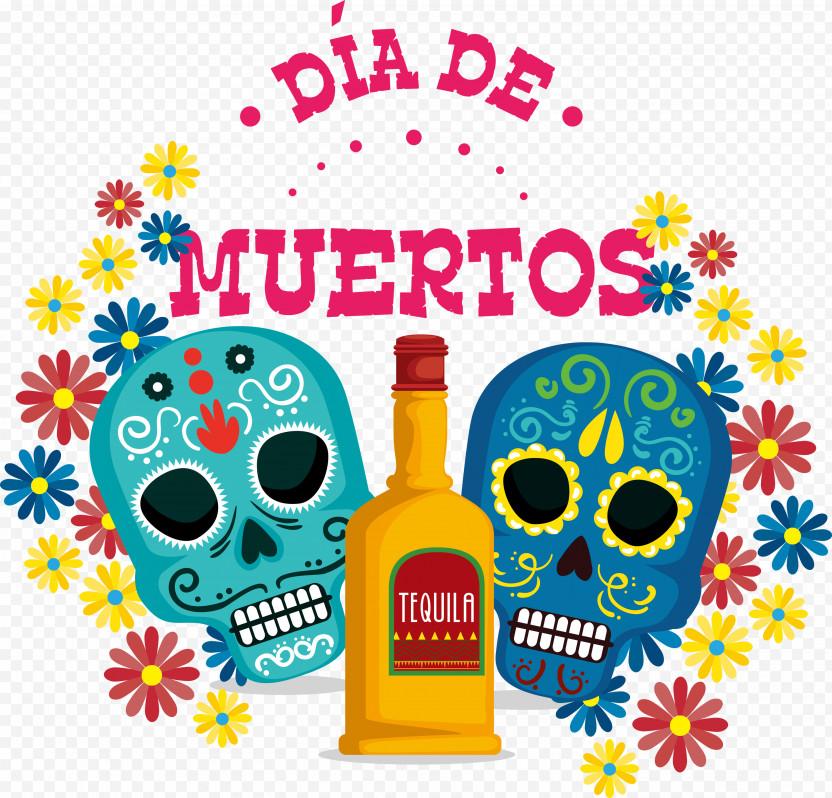 Day Of The Dead Dia De Muertos PNG