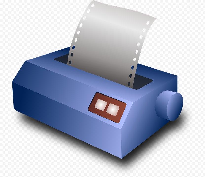 Dot Matrix Printing Printer Clip Art - Peripheral PNG