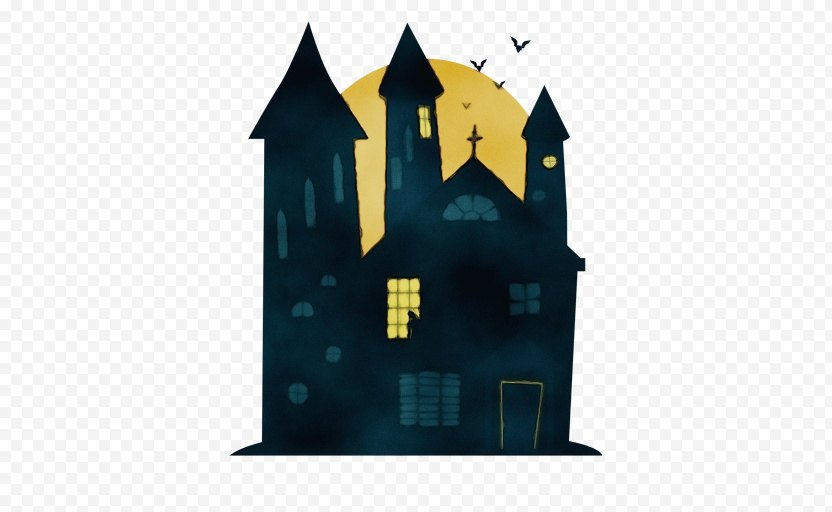 Haunted House Cartoon PNG