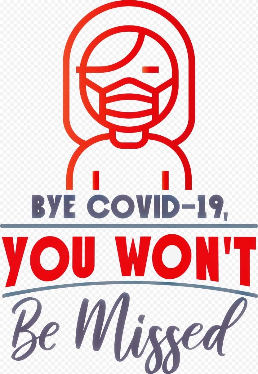 Bye COVID19 Coronavirus PNG