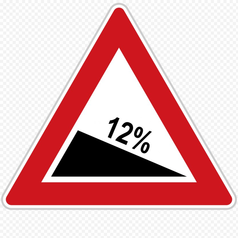 Road Signs In Singapore Traffic Sign Warning - Triangle PNG