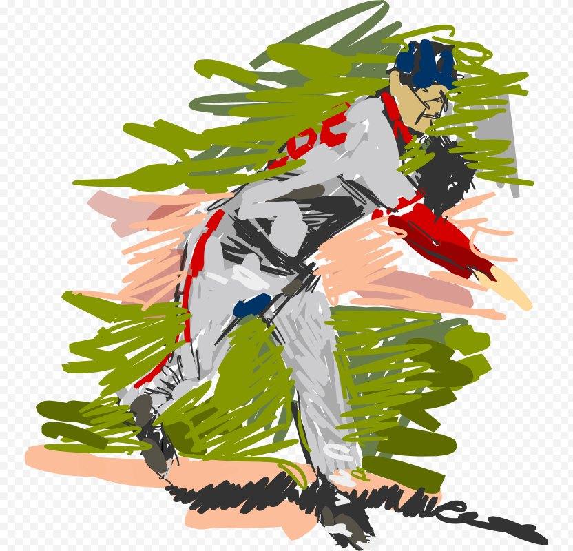 Baseball Bats Batting Pitcher Player PNG