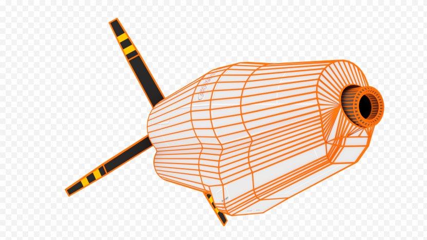 Product Design Line Angle - Orange PNG