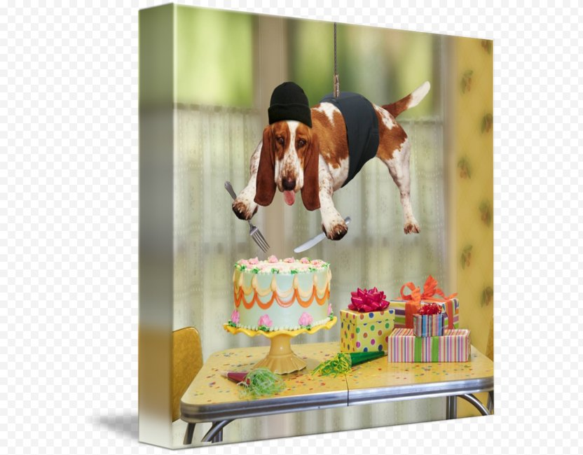 Birthday Cake Happy To You Wish Card PNG