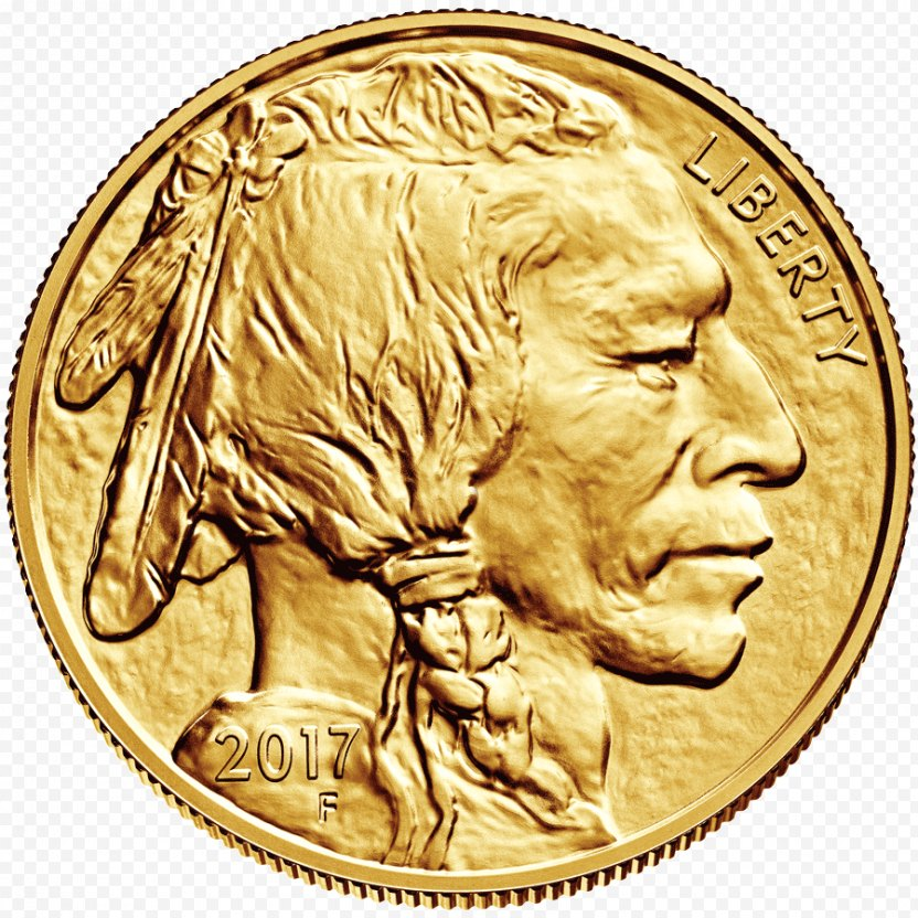 American Buffalo Bullion Coin Gold United States Mint - Bison PNG