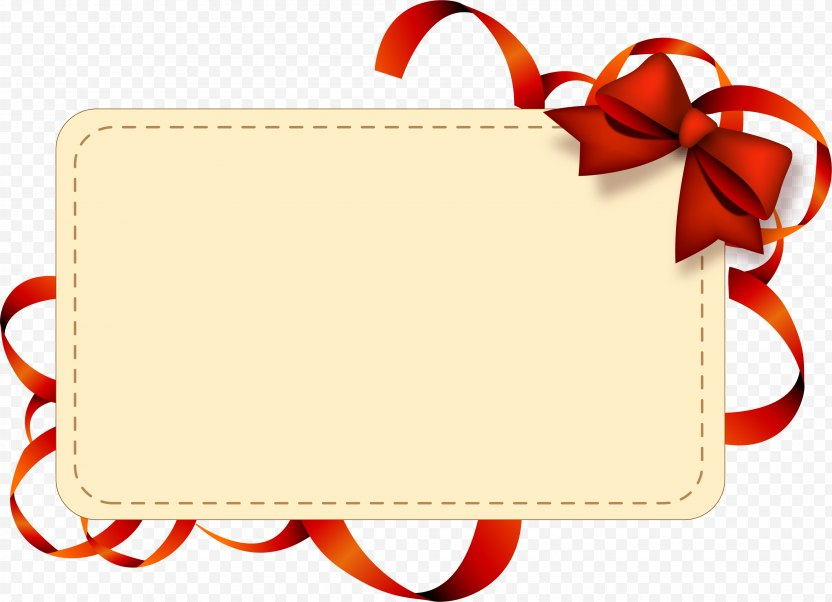 Paper Wedding Invitation Label Gift Die Cutting - New Year PNG