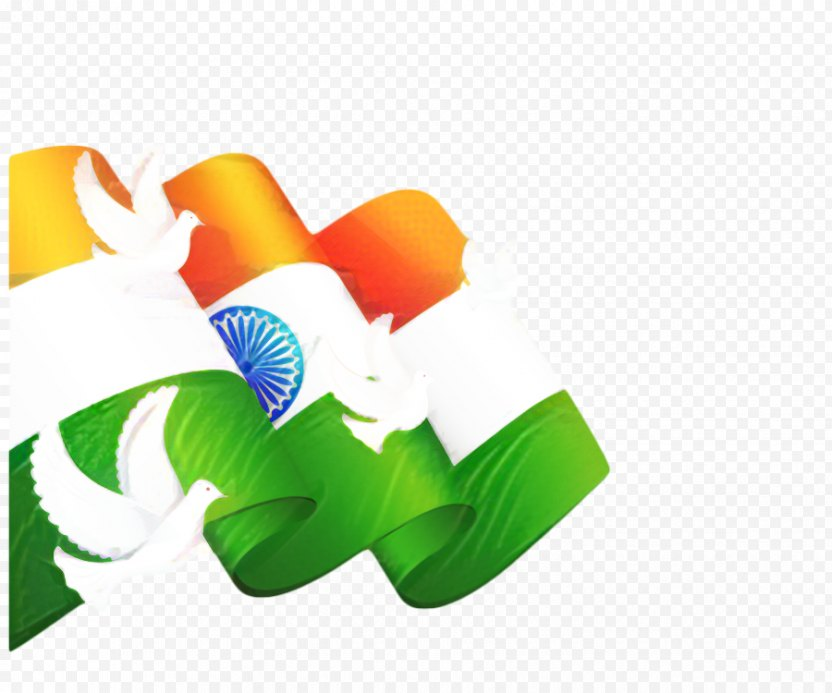 India Independence Day Background Green - Flag Of PNG