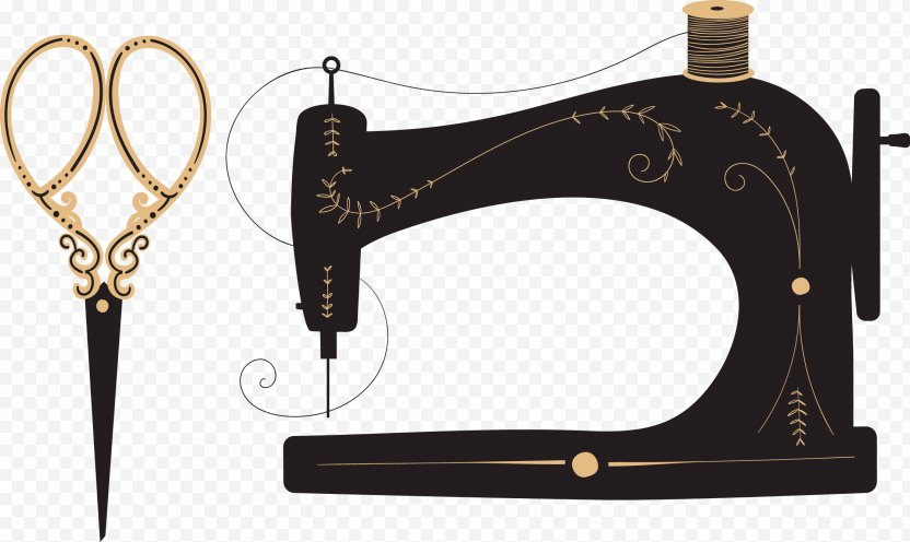Sewing Machine Textile Needle - Brand PNG