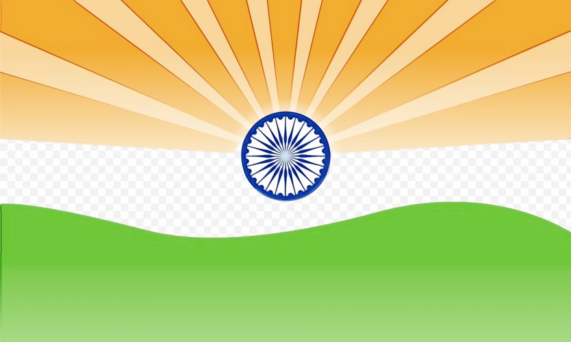 India Independence Day Green Background - Government Of PNG