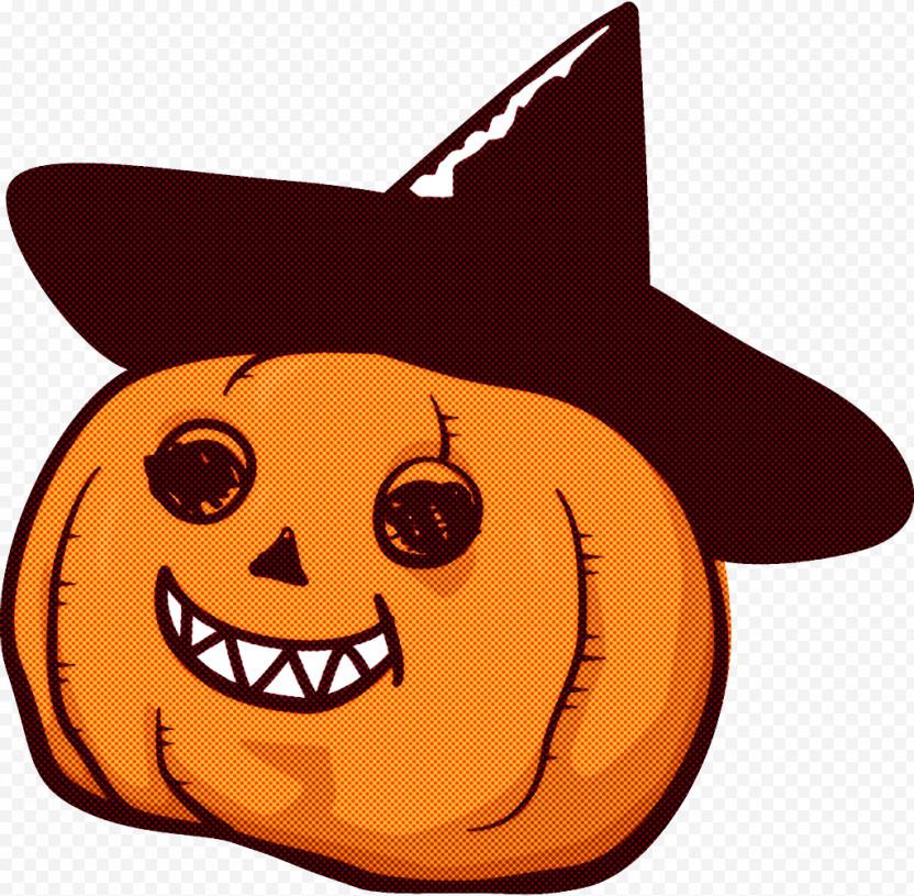 Jack-o-Lantern Halloween Pumpkin Carving PNG