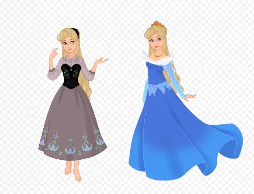 Princess Aurora Sleeping Beauty Fiona Elsa Disney - Figurine PNG