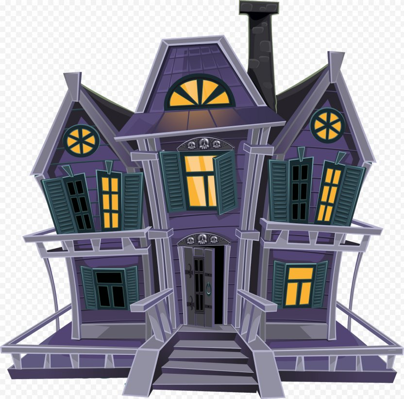 Haunted House Clip Art - Toy PNG