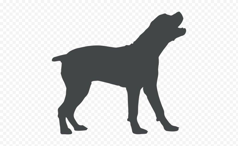 Labrador Retriever Puppy Dog Breed Silhouette Coyote PNG