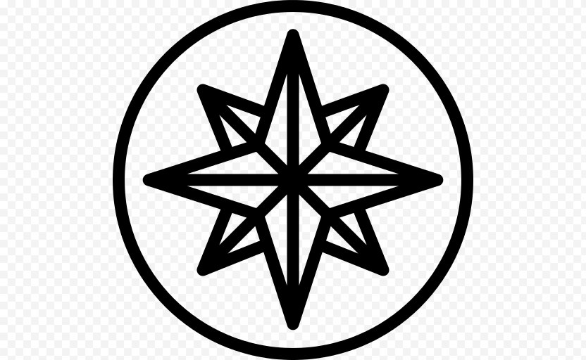 Compass Rose North PNG