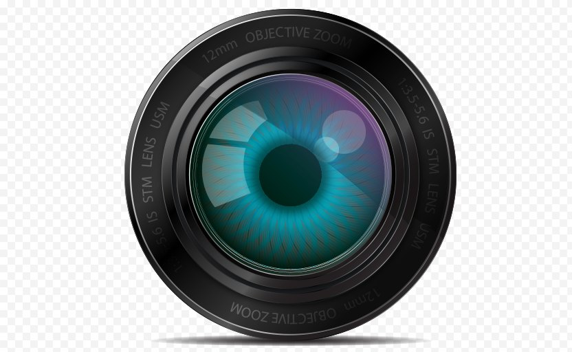 Lens Flare - Cameras Optics PNG