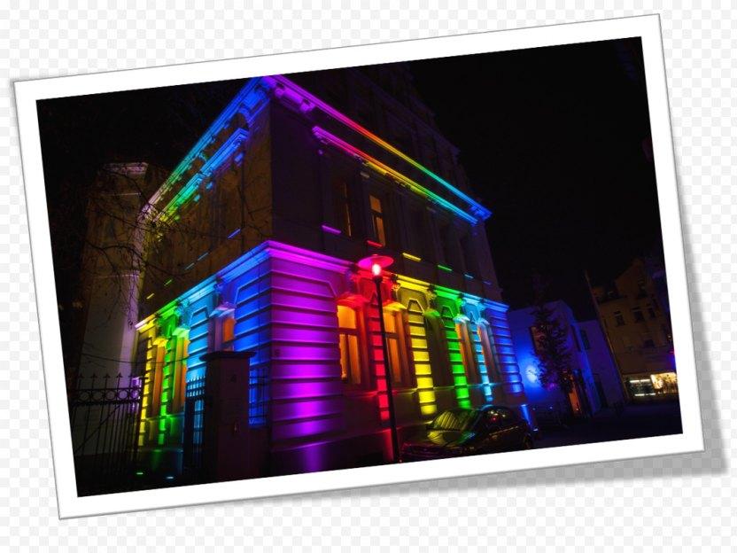 Lighting LED Lamp Building Light-emitting Diode - Led PNG