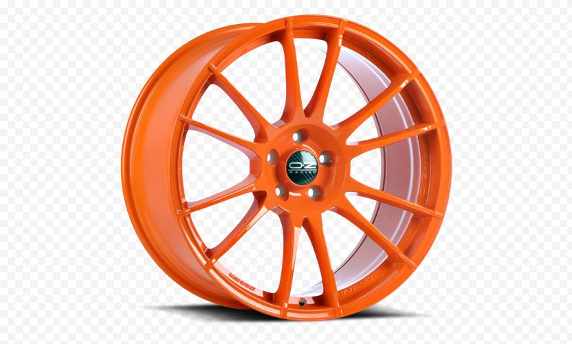 Car OZ Group Alloy Wheel Tire PNG