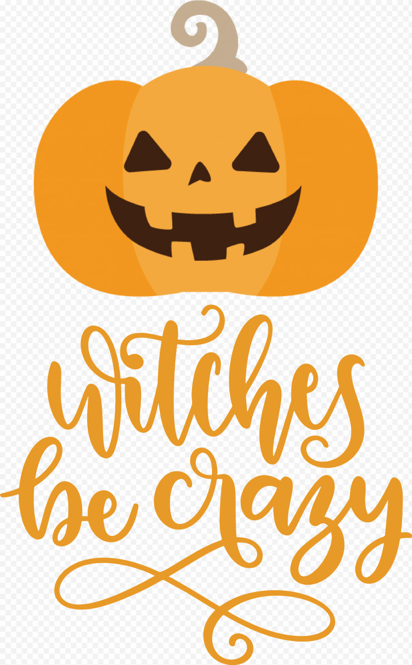 Happy Halloween Witches Be Crazy PNG