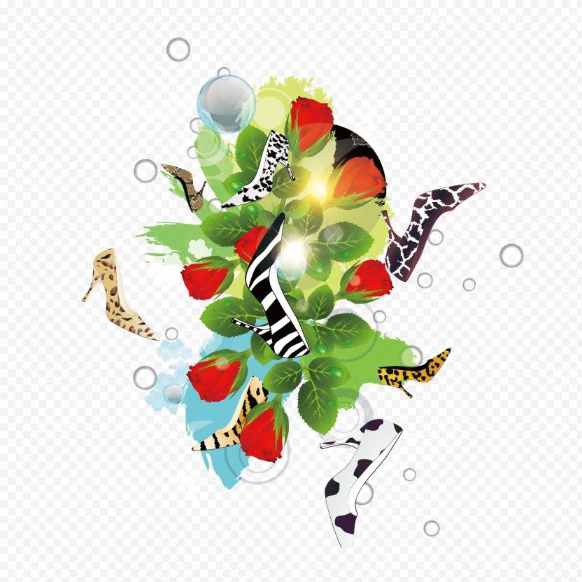 Shoe Flower Graphic Design Designer - Plant PNG