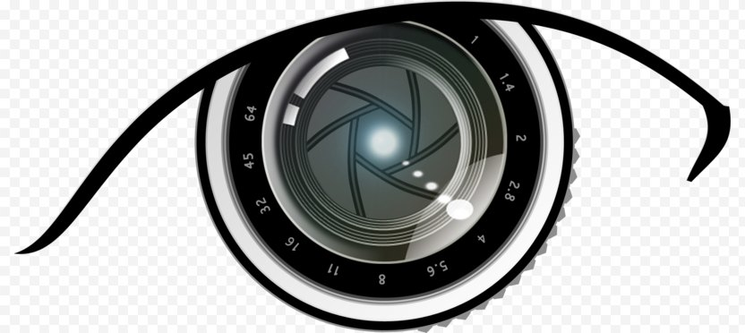Photography Camera Logo Eye - Lens PNG