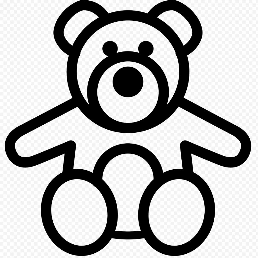 Bear - Silhouette PNG