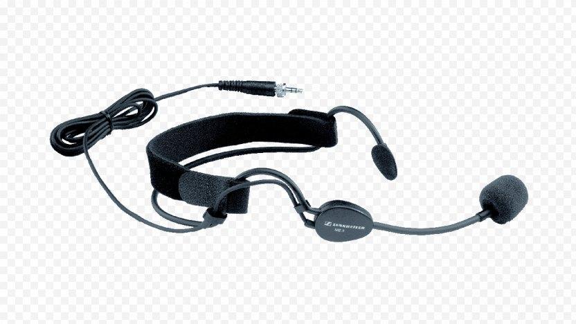 Wireless Microphone Headset Sennheiser PNG