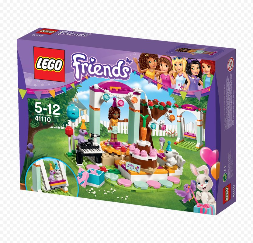 Amazon.com LEGO Friends Birthday Party - Lego PNG