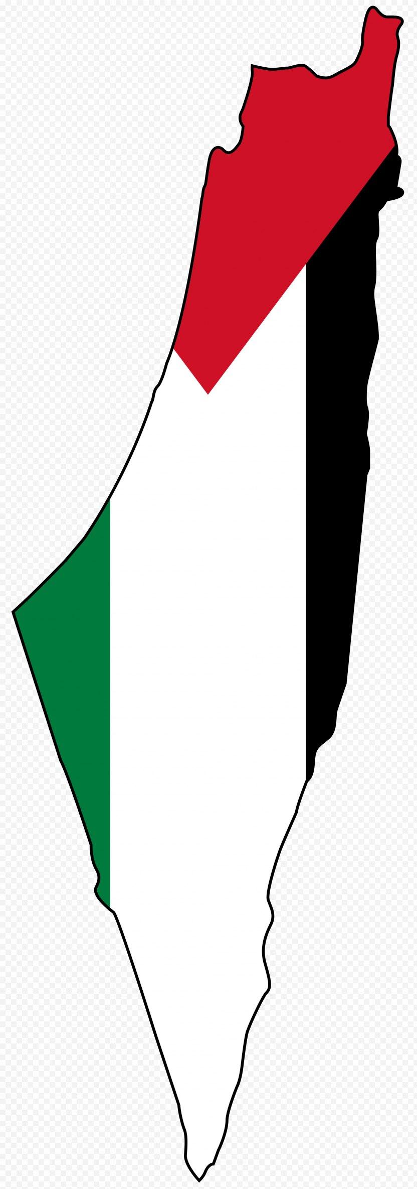 Israel State Of Palestine Mandatory Flag Map PNG