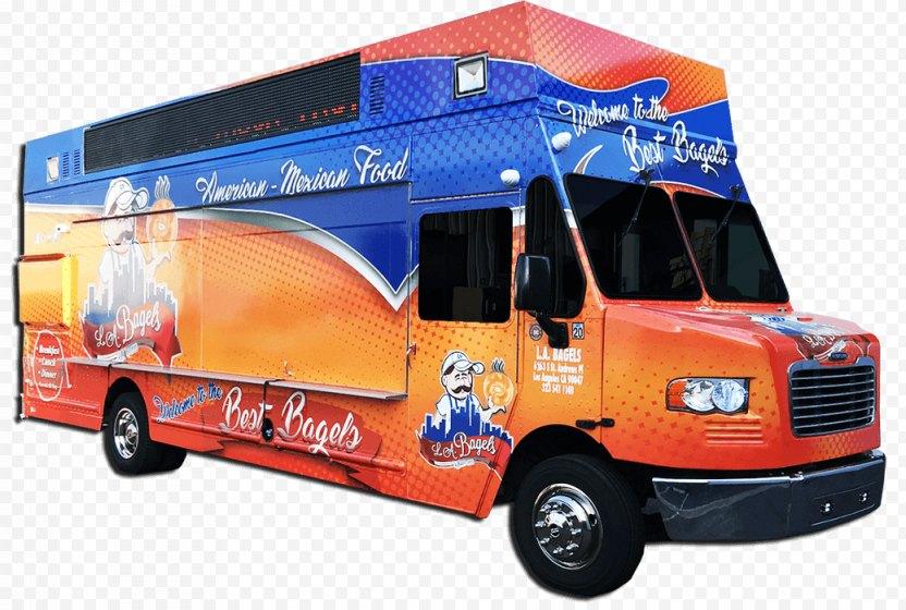 Bus Cartoon - Food Truck PNG