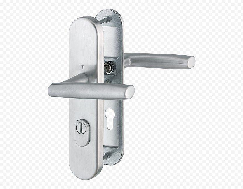 Schutzbeschlag Door Handle Edelstaal Hoppe Group - Hardware Accessory PNG