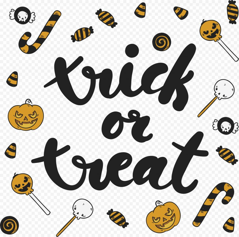 Trick-or-treating Euclidean Vector Halloween Candy Sugar - Icon PNG