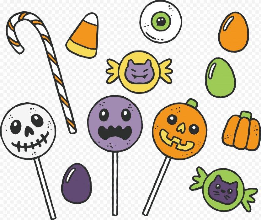 Halloween Candy - Clip Art PNG