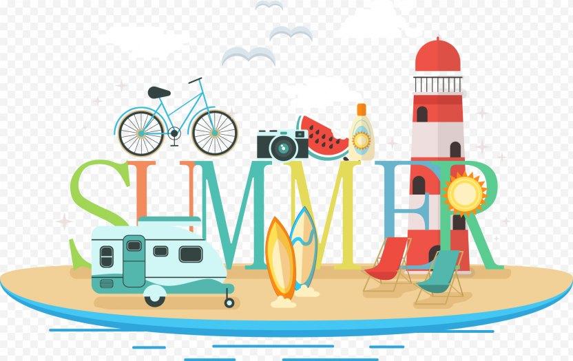 Summer Illustration - Cartoon PNG