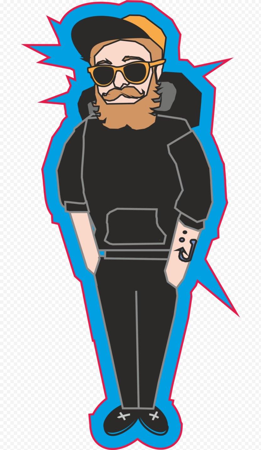 Cobalt Blue Human Behavior Character Clip Art - Fiction PNG