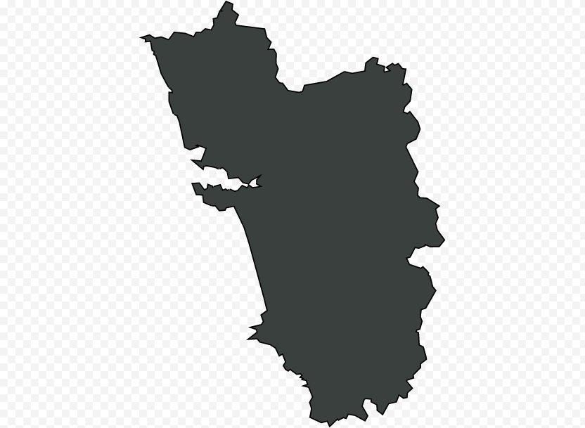 Goa Legislative Assembly Election, 2017 Map - Road PNG