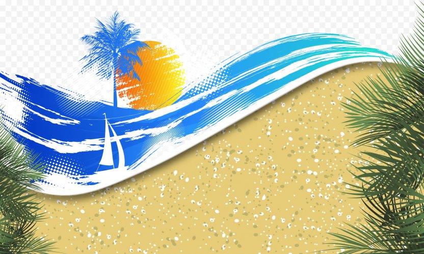 Banner Summer Beach - Water PNG
