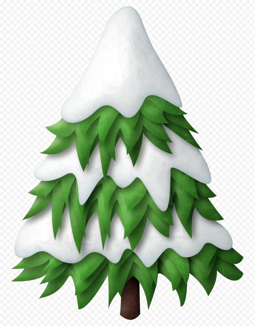 Tree Snow Pine Clip Art PNG