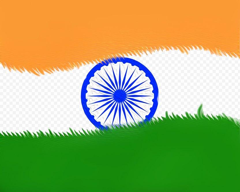 India Independence Day National Flag - Hindi PNG