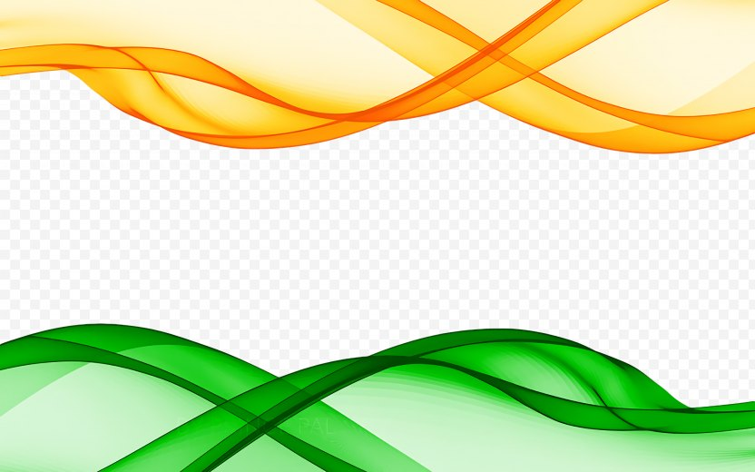 India Independence Day Background Green - Flag PNG