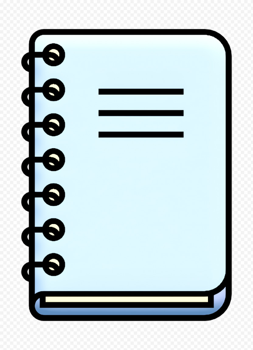 Business Icon Office Supplies Icon Notebook Icon PNG