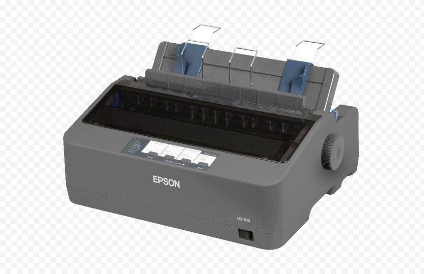 Dot Matrix Printing Printer Driver Device - Point Of Sale PNG