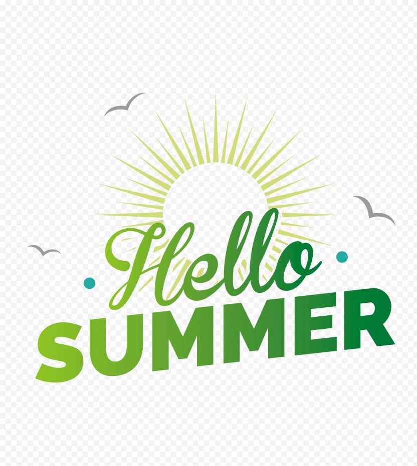 Hello Summer - Area PNG