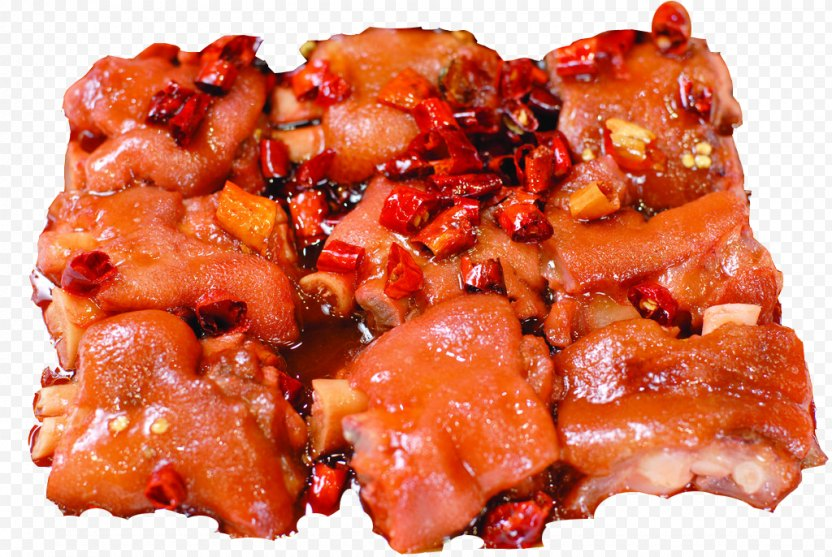 Tocino Sweet And Sour Sichuan Cuisine Pigs Trotters PNG